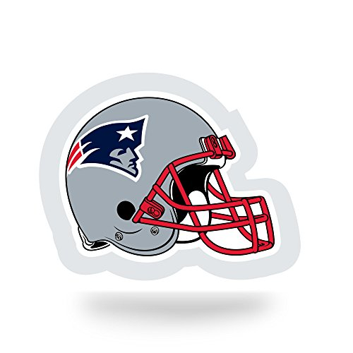 NFL New England Patriots  Team Tattoo, Grey, Red, Blue, 5-inches by 3.5-inches by 0.2-inch