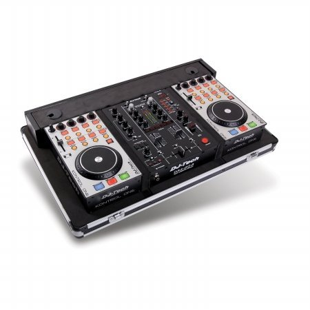 DJ-Tech Hybrid 303 DJ Package (Mixtrack Pro Flight Case)