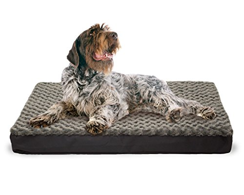 FurHaven Ultra Plush Deluxe Orthopedic Pet Bed Mattress for Dogs and Cats