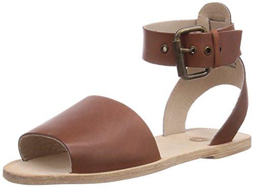 H Shoes SOLLER - Sandalias de vestir de cuero para mujer marrón - Braun (TAN)