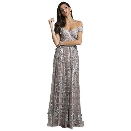 Silver Line Gown Lace 33650 Ari Style A Lara 4w0tFO