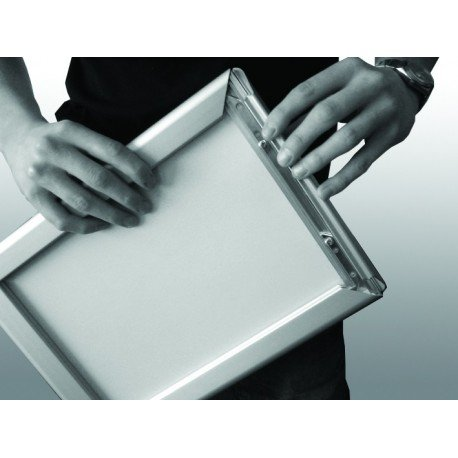 Aluminium Gold A4 A3 A2 A1 A0 Mitred Snap Frames Wall Posters Holder Click Frame Picture Clip Display Retail Wall Notice Boards A4 Landscape