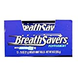 Product Of Breath Savers, Mints Peppermint Roll, Count 24 (0.75 oz) - Mints / Grab Varieties & Flavors