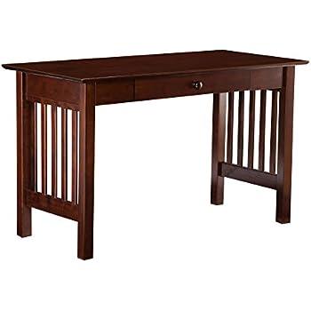 Amazon Com Atlantic Furniture Mission Desk With Drawer