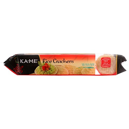 KaMe Rice Crackers – Wasabi – 3.5 oz – 1 each