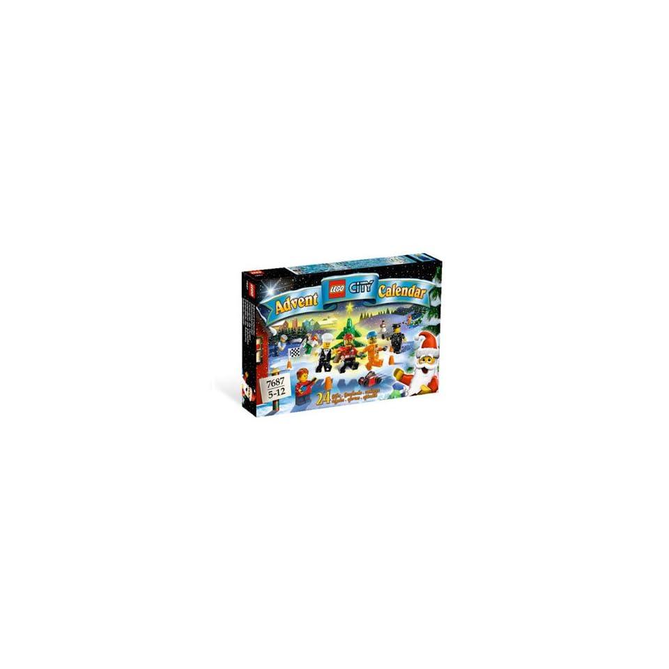 Lego City Advent Calendar   2009