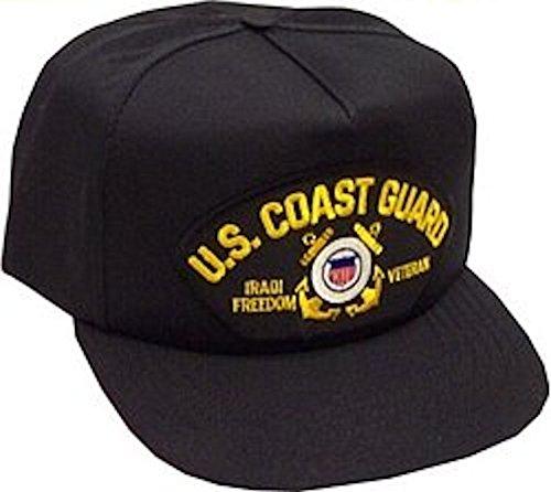 U.S. Coast Guard Iraqi Freedom Veteran Ballcap (Cap Freedom Iraqi Ball)