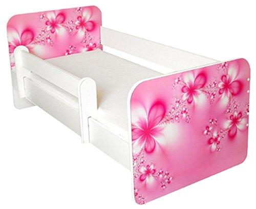 Toddler Bed with Free mattress Flower Design Amila IgorFlower