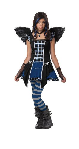 (California Costumes Raven Tween Costume,)