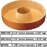Novacart Round Paper Baking Pan - MC200, Case of 360