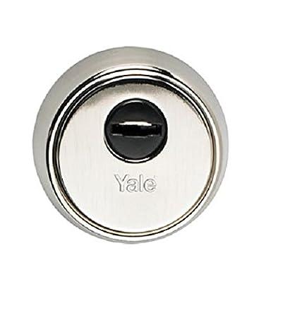 Yale ESM5CCHN Escudo de seguridad M5 Acero Niquelado