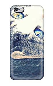 Defender Case For Iphone 6 Plus, Cat With Bright Eyes Animal Cat Pattern