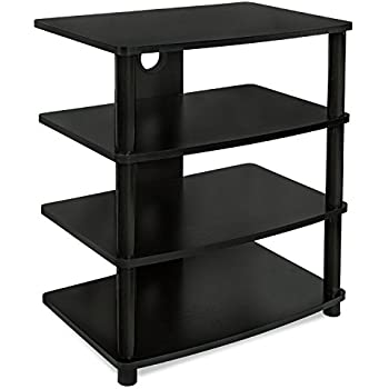 Mount It! Media Stand Entertainment Center For TV, Audio Video Components,  Stereo
