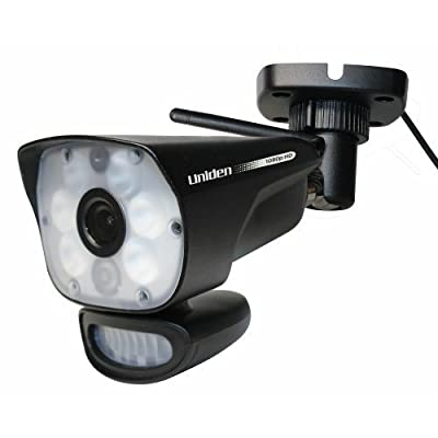 Uniden ULC58 Outdoor Video Surveillance Camera with Night Vision Up to 45 Ft
