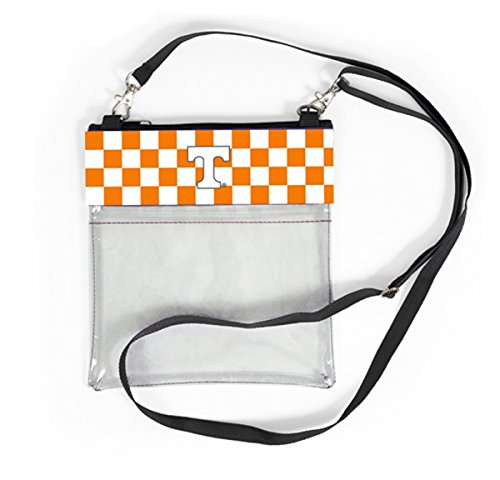 Approved Licensed Purse Clear Bag Crossbody Collegiate Stadium College Officially Logo Gear Tennessee Transparent For With cEqYzrwq