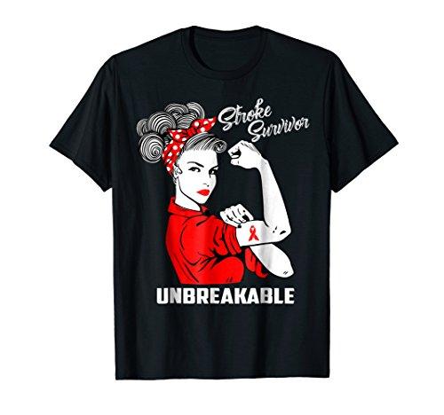 Survivor Costume Ideas (Stroke Survivor Unbreakable T-Shirt Stroke Awareness)
