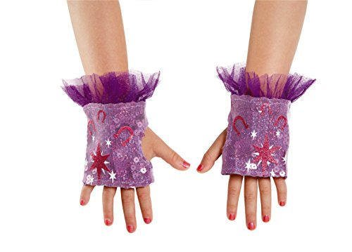 Twilight Sparkle Sequin My Little Pony Glovettes, One Size Child, One Color