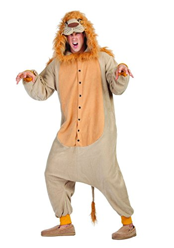 RG Costumes Men's Lee The Lion, Brown/Tan, One Size from RG Costumes