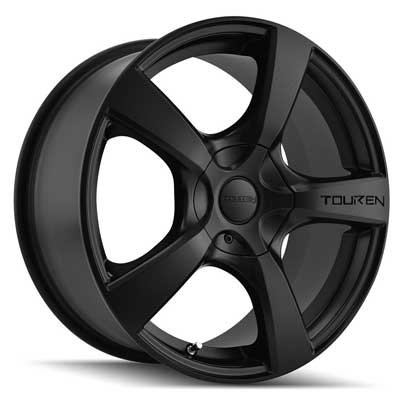 TOUREN TR9 Wheel with Matte Black (19 x 8.5 inches /5 x 74 mm, 40 mm Offset
