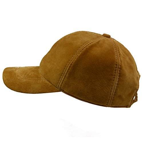 (IFSUN Unisex Suede Baseball Cap Adjustable Plain Dad Hat for Women Men)