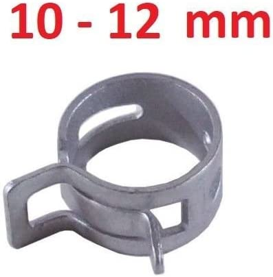 STAINLESS STEEL EFI Fuel Injection Hose Clamp x10 8MM-12MM