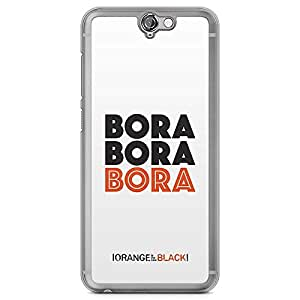 HTC One A9 Transparent Edge Case Orange Is The New Black Bora OITNB