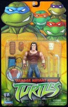 Teenage Mutant Ninja Turtles: (Casey Jones) Action Figure [2003]]()