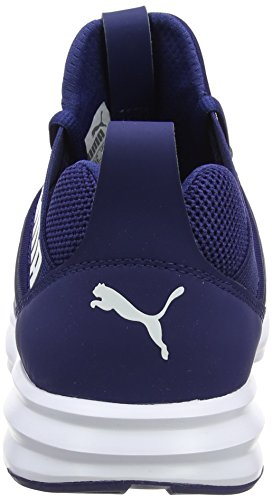 Hombre De Para Enzo Depths Puma Exterior Zapatillas Deporte Mesh white Azul blue twfxRZ0q