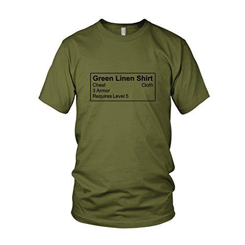 Shirt Item - Herren T-Shirt, Größe: XL, Farbe: army