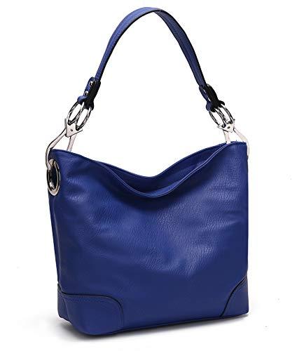 Royal Blue Tote Handbag - MKF Hobo bag for Women - Satchel-Tote shoulder Bag - Vegan Leather Womens Purse Top Handle Pocketbook Handbag Royal Blue