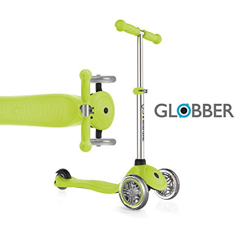 Globber Primo 3 Wheel Adjustable Height Scooter (Green)