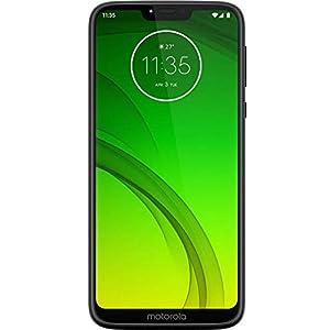 Motorola Moto G7 Power, Dual SIM 6.2″ (GSM Only) Factory Unlocked US & Global 4G LTE International Model XT1955 (Black, 64GB)
