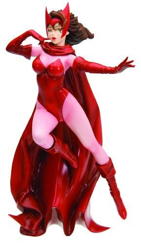 Kotobukiya Marvel Comics: Scarlet Witch Bishoujo Statue