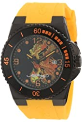 Ed Hardy Men's IM-DR Immersion Yellow Watch