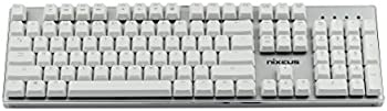 Nixeus MK-104BN16 MODA PRO Mechanical Keyboard (White)