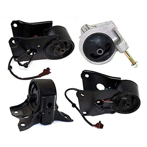 K0028 Fits 2000-2001 Infiniti I30 3.0L Engine & Trans Mount w/Sensor for AUTO 4 PCS : A7306EL A7321, A4322EL A7303