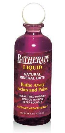 Batherapy Mineral Bath Liquid, Lavender, 16 oz by Batherapy