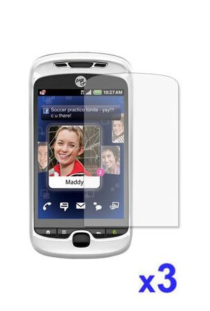 Premium Tri-Pack Screen Protector for HTC myTouch 3G Slide T-Mobile