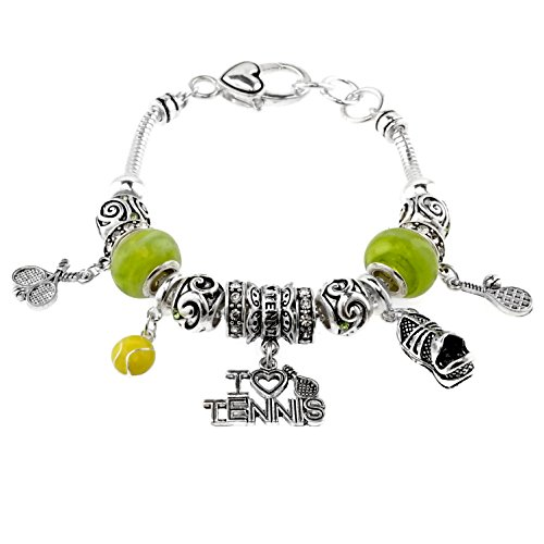 Sports Theme Murano Glass Bracelet product image