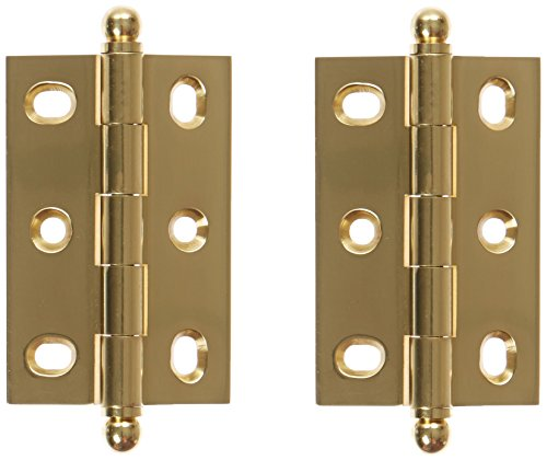 - Deltana CHA2517U14 2-1/2-Inch x 1-11/16-Inch Adjustable Cabinet Hinge with Ball Tips