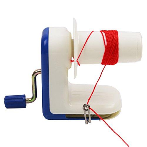Yunt Ball Winder, Home Manual Hand Operated Metal Yarn Fiber Wool String Ball Winder Winding Twining Machine by Yunt