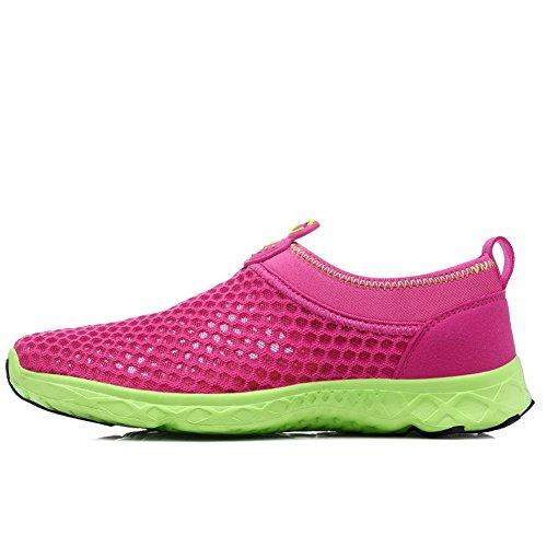 Zapatos De Agua Krimus Para Mujer Para Hombre Zapatos Ligeros De Aguamarina Quick Dry Dry Rojos