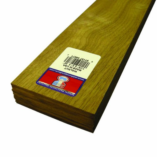 - Midwest Products 4671 Project Woods Genuine American Black Walnut Sheets, 24 x 3 x 0.0625 Inches