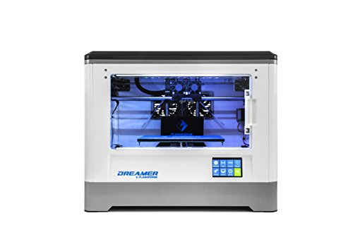 Flashforge Dreamer 3D Printer  Dual Extruder  Fully Enclosed Chamber  W 2 Free Spools