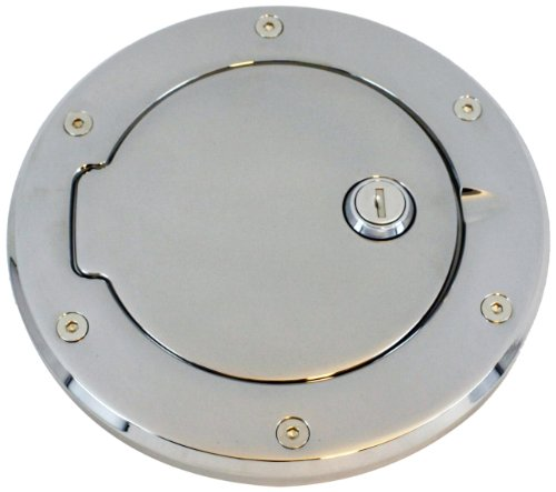 All Sales 6099L Billet Fuel Door