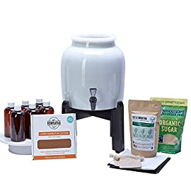 Makes Kombucha Tea On Tap. Continuous Kombucha Home Brew Kit Makes 127 Bottles Of Great Tasting Kombucha Tea Right From Home Every 28 Days! Everything You Need To Get Brewing. 180 Day Guarantee. 8