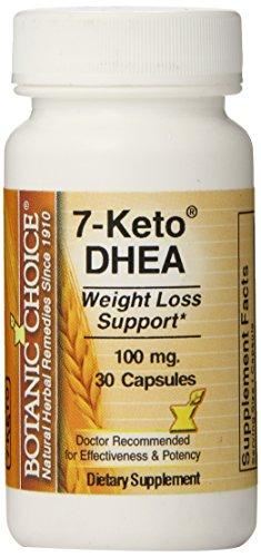 Botanic Choice 7-Keto DHEA Capsules, 30 comte