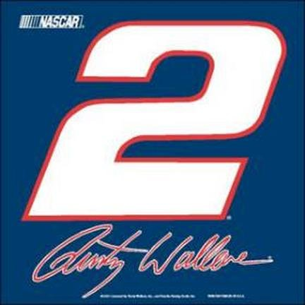 Casey 3208567353 Rusty Wallace Drapeau de voiture