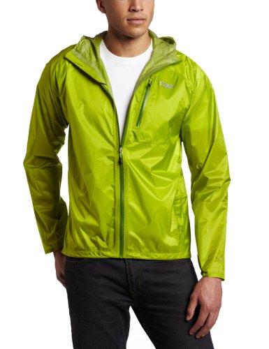Outdoor Research Men's Helium II Jacket, Lemongrass, X-Large (Two Layer Waterproof Jacket)