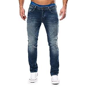 41OAThLaRgL. SS300  - MERISH-Jeans-Herren-Slim-Fit-Jeanshose-Stretch-Designer-Hose-Denim